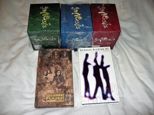 Genesis 1970-1975 CD/SACD & DVD BOX: SMALL TALK